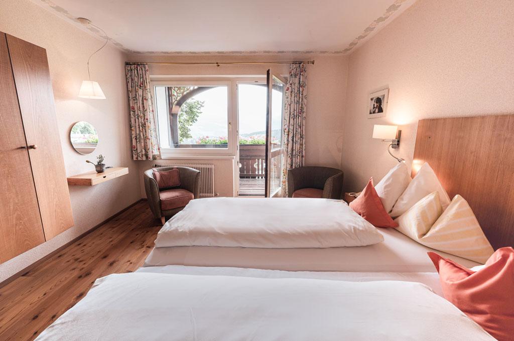 Bio Hotel Feistererhof Familienzimmer Aussicht