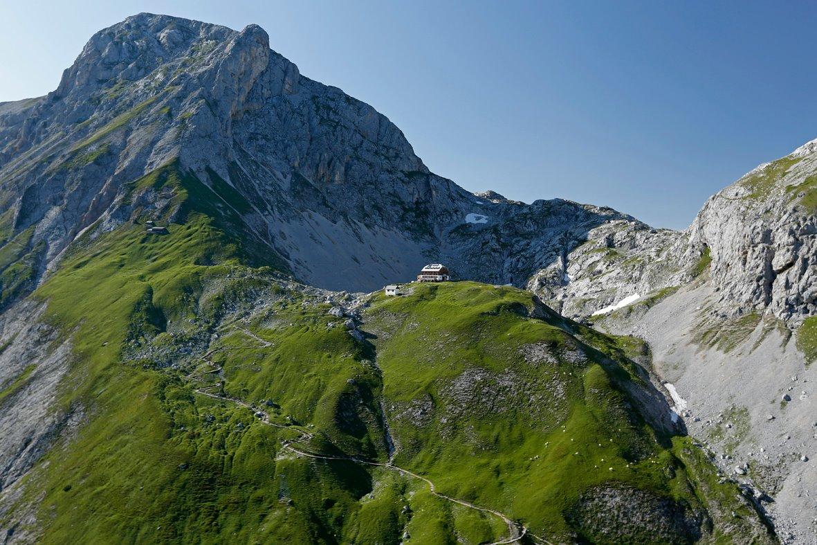 Wandertour zum Guttenberghaus in der Steiermark